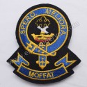 Moffat Spero Meliora Clan Badge