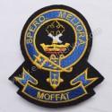 Moffat Spero Meliora Clan Badge