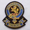 Nicolson Generositate Clan Badge