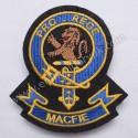 Macfie Pro Rege Clan Badge