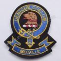 Melville Denique Coelum Clan Badge