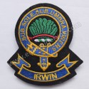 Irwin Sub Sole Sub Umbra Virens Clan Badge