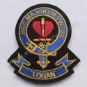 Logan Hoc Majorum Virtus Clan Badge