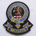 Macqueen Constant And FaithFul Clan Badge