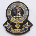Burnett Virescit Vulnere Virtus Clan Badge