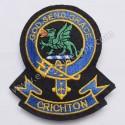 Crichton God Send Grace Clan Badge
