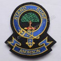 Andrson Stand Sure Clan Badge
