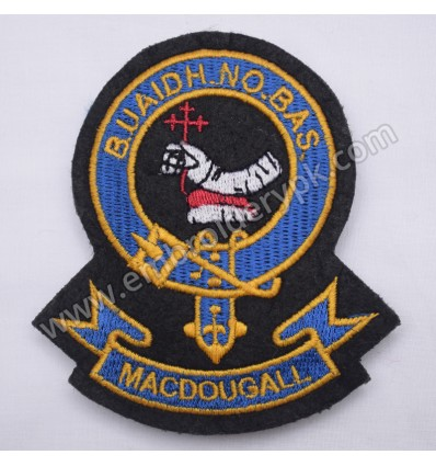 MACDOUGALL BUAIDH NO BAS CLAN BADGE