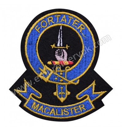 MACALISTER FORTATER CLAN BADGE