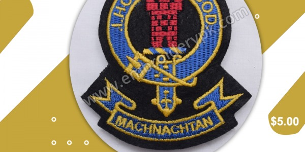 MACHNACHTAN I HOPE IN GOD CLAN BADGE
