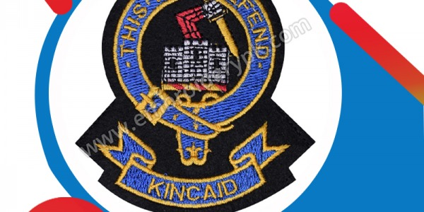 KINCAID THIS I LL DEFEND CLAN BADGE